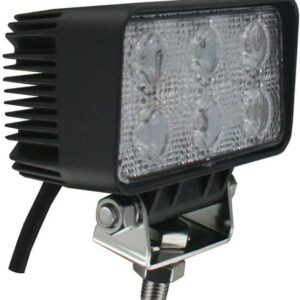 Techspan Megalumen 4 1/2-in Rectangular Tractor/Utility - 1140 LX Flood Beam LED Lamp TS725230