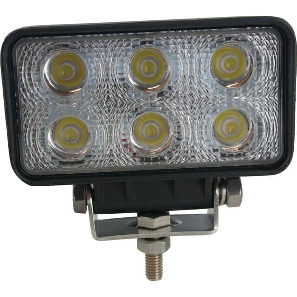 Techspan Megalumen 4 1/2-in Rectangular Tractor/Utility - 1140 LX Flood Beam LED Lamp TS725230