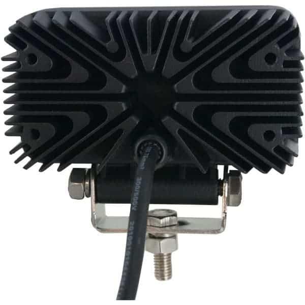 Techspan Megalumen 4 1/2-in Rectangular Tractor/Utility - 1440LX Spot Beam LED Lamp TS725231