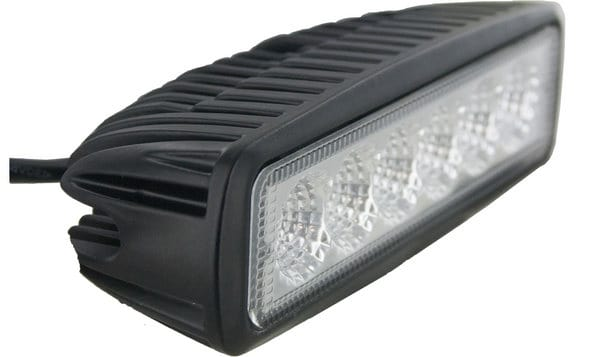 Techspan Megalumen Rectangular Tractor Utility LED Lamp TS725237
