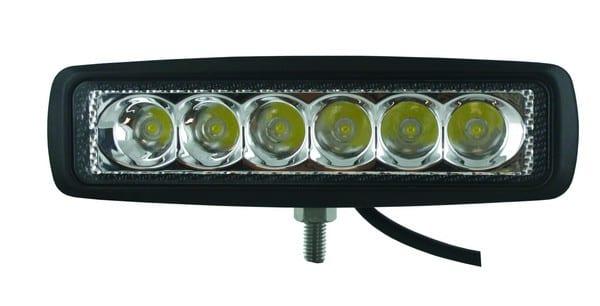 Techspan Megalumen Rectangular Tractor/Utility - 1440LX Spot Beam LMP LED TS725277