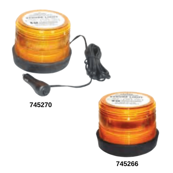 Techspan replacement Amber Lens Polycarbonate for 745266 and 745270 TS731934