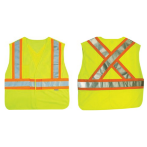 Ancra Lime Green Safety Vest AC50532-12