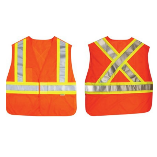 Ancra Orange Safety Vest AC50532-13