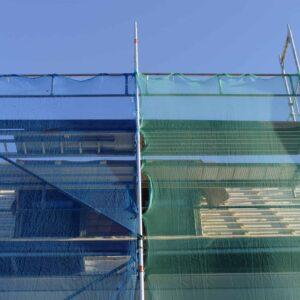 Inland Plastics Scaffold Debris Netting