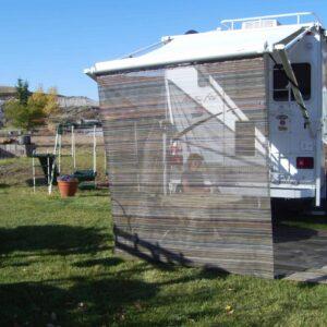 Inland Plastics RV Mat Drop Curtain