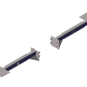Roll Rite Adjustable Straight Mount for 6 &8 Spring Top Mount Pivots - Set