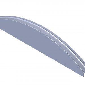 Roll Rite Aluminum Endcap with Aluminum12-ft Arch 37010