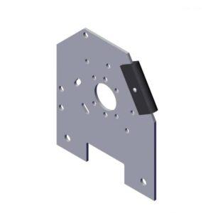 Roll Rite Aluminum Mounting Bracket - Passanger Side 36339
