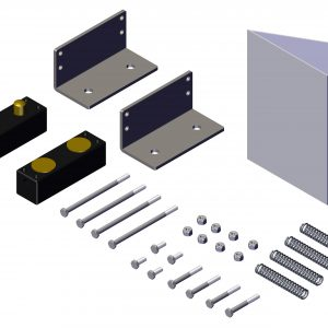 Roll Rite Contact Plate Set with Steel Mounts 10620