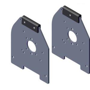 Roll Rite Int Housing Aluminum Endcaps Bracket 6348