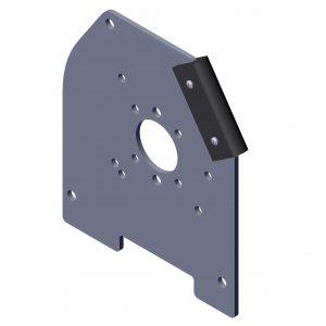 Roll Rite Int Housing Aluminum Endcaps Bracket- Drivers Side 36331