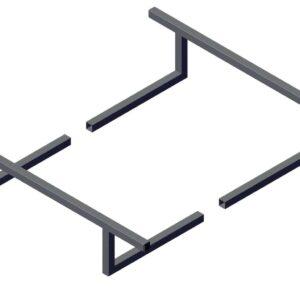 Roll Rite Mounting Bracket for Narrow Profile Sliding Pivot - Set