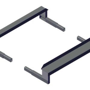 Roll Rite Mounting Brackets for External Mount Pivot - Set