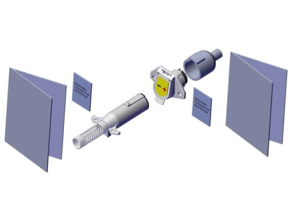 Roll Rite Plug Set With Sureflex Dual Conductor, Horizontal Pins 12860_3