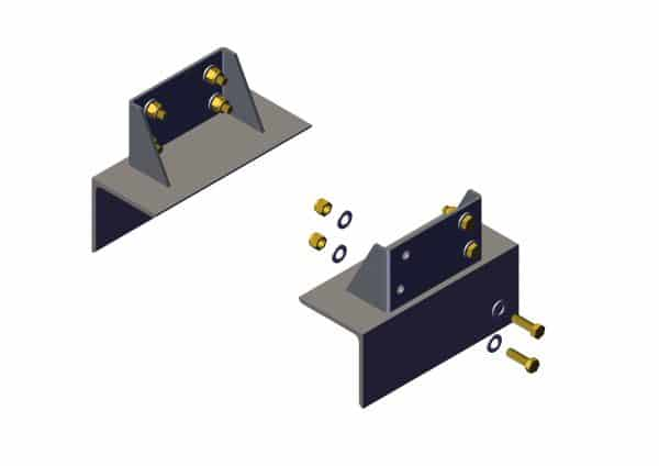 Roll Rite Side Frame Style Tower Mounting Bracket - Set