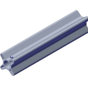 Roll Rite Side-to-Side Axle Splice With 1-in Shaft Adapter 36970