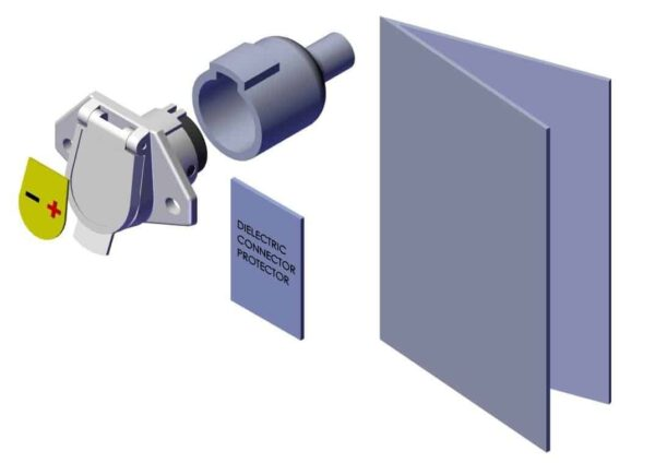 Roll Rite Socket Assembly With Sureflex Dual Horizontal Terminal 12870_2