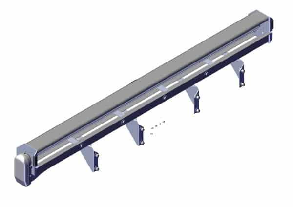 Roll Rite Spool Kit With Super Duty Tarp Spool, 104-in Housing & Brackets 36120