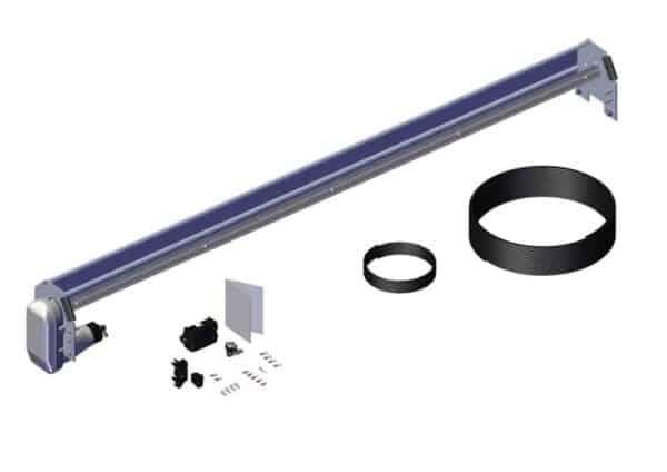 Roll Rite Spool Kit With Super Duty Tarp Spool, 97-in Wind Deflector & Mounting Brackets 36470
