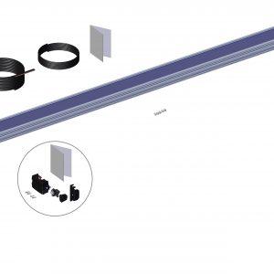 Roll Rite Spool Kit With TarpMaster Tarp Spool, 103-in Axle Spool Kit & Wind Deflector 36480