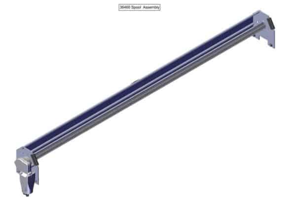 Roll Rite Spool Kit With TarpMaster Tarp Spool, 97-in Wind Deflector & Mounting Brackets 36460