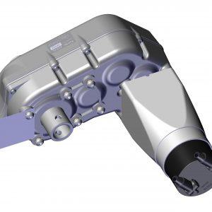 Roll Rite Thru-Shaft Tarp Motor for Cable System 24V 20240