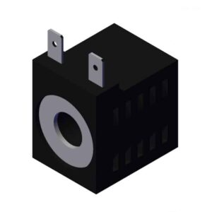 Roll Rite 1 14in Two Male Tab Coil for Power Unit (39616) RR102816