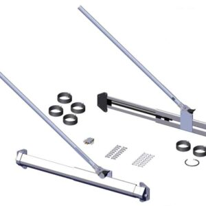 Roll Rite 3ft Vertical Sliding 5 Spring Pivot Set 47700