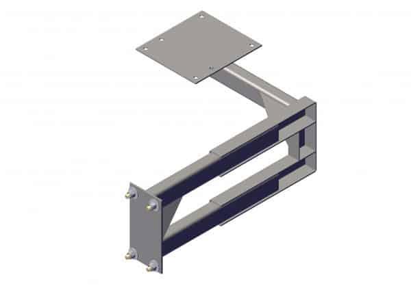 Roll Rite Adjustable Forward Pivot Mount for Top Mount 12&16 Spring RR104574