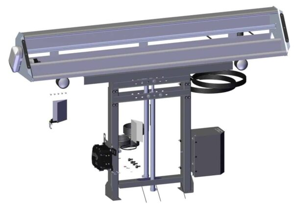 Roll Rite Assembled 2 Stage Adjustable Tower with Single Valve, Control Box & High Capacity Housing RR103920
