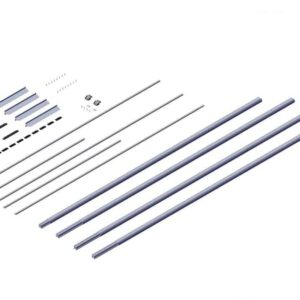 Roll Rite Axle Kit - 3in without Ridge Pole for 41ft-48ft Trailers 104055