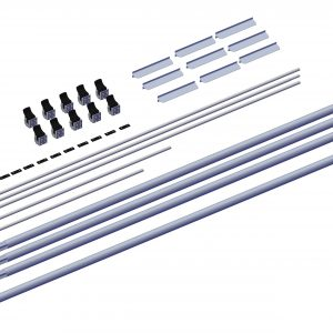 Roll Rite Axle Kit - 3in without Ridge Pole for 41ft - 48ft Trailers RR102575