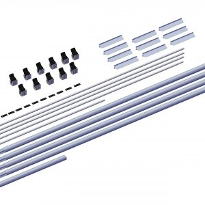 Roll Rite Axle Kit - 3in without Ridge Pole for 49ft - 53ft Trailers rr102576