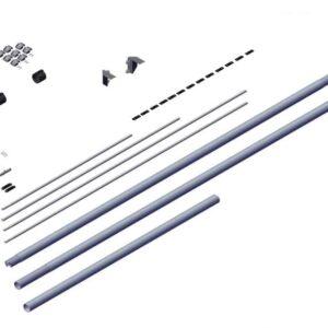 Roll Rite Axle Kit - 4in for 37ft Side Dump Trailer RR102454