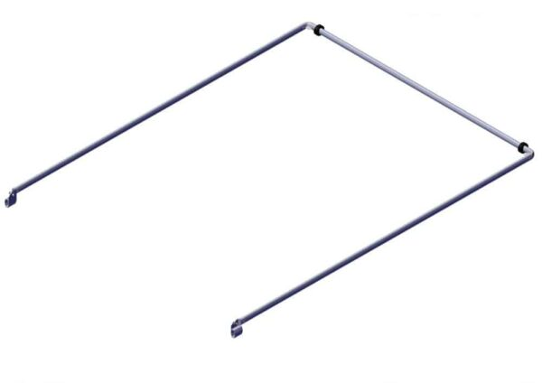 Roll Rite Bow Set - Long Tension Bow 98 Wide Top Tube with 130 Long Side Arms 76840