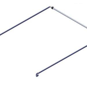 Roll Rite Bow Set - Long & Wide Tension Bow 103 Top Tube with 130 Long Side Arms 76850