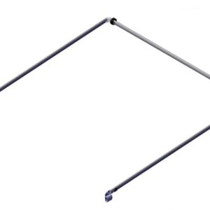 Roll Rite Bow Set - Tension Bow 98 Wide Top Tube with 98 Side Arms 76710