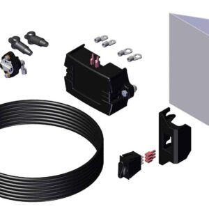 Roll Rite Electric Kit - Weather Proof HD Rotary Switch & 35 Amp Manual Reset Breaker 10906