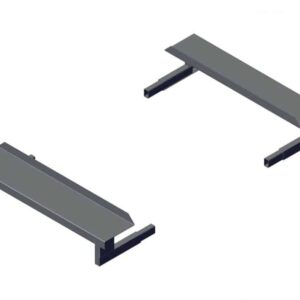 Roll Rite Mounting Brackets for 3ft Low Profile Sliding Pivots - Set RR46416