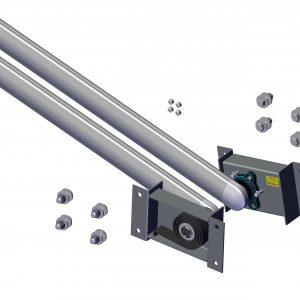 Roll Rite Pivot Set - 2 Spring with 31 Aluminum Pivot Tube -Transfer Tub 46420