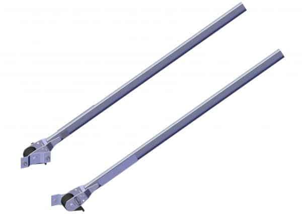 "Roll Rite Pivot Set - 4 Spring with 60"" Aluminum Pivot Tube"