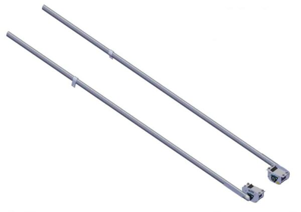 Roll Rite Pivot Set - 6 Spring Under-Body Mount with 144 Pivot Tubes 46580