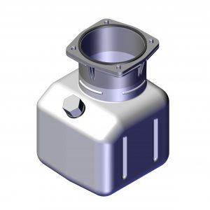Roll Rite Tank Kit, 1 Gallon MTE 102074