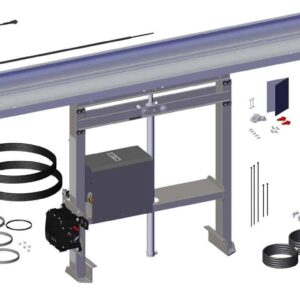 Roll Rite TarpMaster Adjustable Narrow Frame Tower with Pump & Control Box for DC204 Tarp System RR102875_1