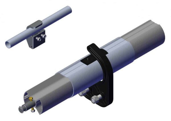 Roll Rite 4in Axle Kit without Ridge Pole for Side Dump Trailer (per foot) 37270