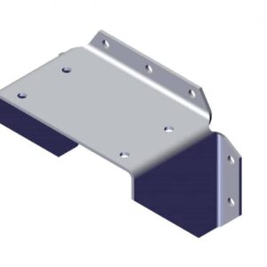 Roll Rite AL Bracket for Mounting Top Mount Pivot to Vertical Surface 47200