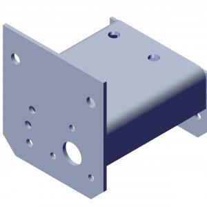 Roll Rite Aluminum Bracket 12UB Passenger Side 46014