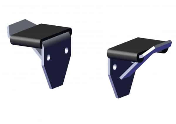 Roll Rite Aluminum Stop Bracket (Pair) 46950