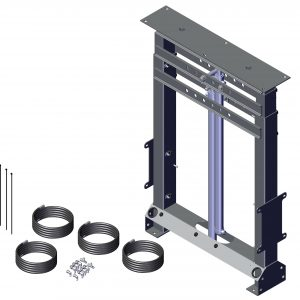 Roll Rite Dual Stage Steel Tower with Hydraulic. Cylinder for Integrated Housing 39005